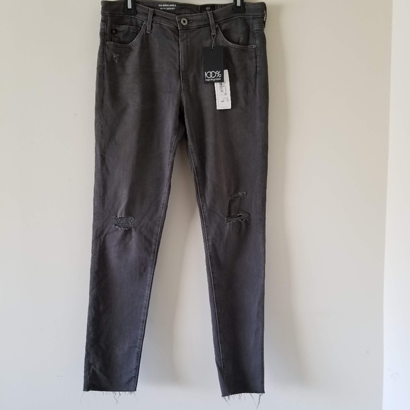 f161b435e44d9 Ag Adriano Goldschmied Jeans | Ag Adriano Glodschmted Middi Ankle ...